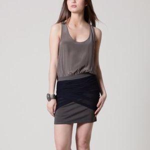 100% Silk Women  body-con fitted Dress